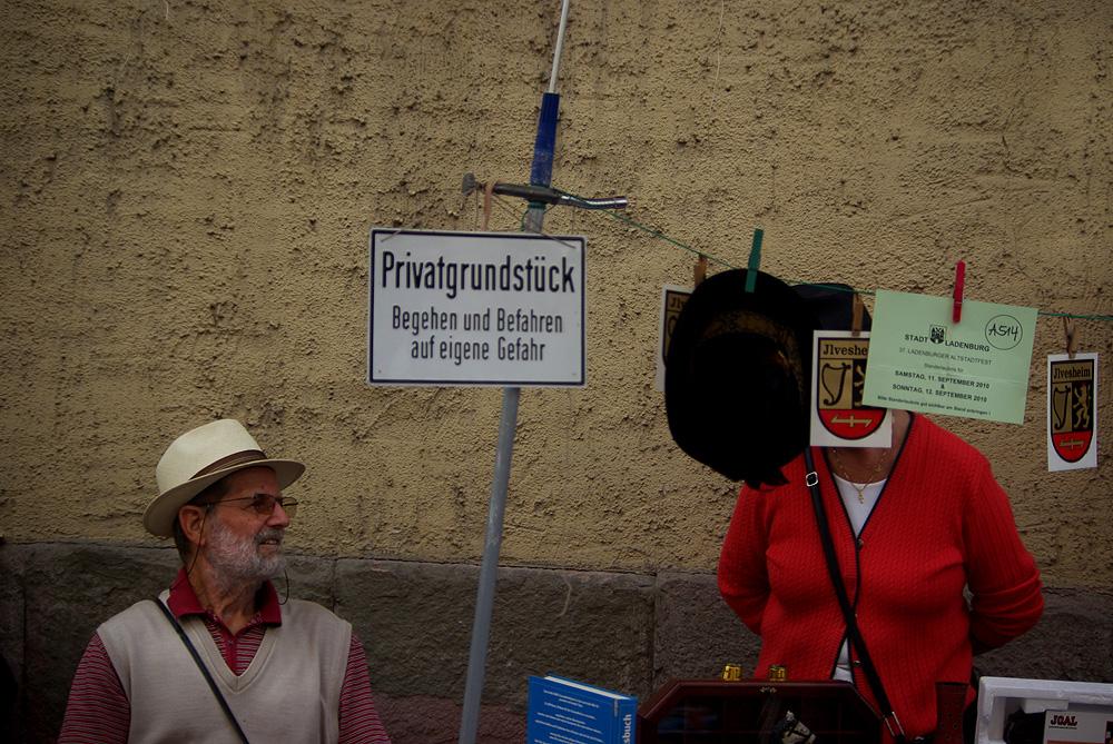 Altstadtfest Ladenburg - die Feste fallen wie die Vorhänge
