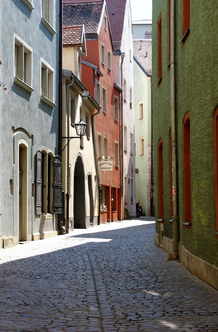 Altstadtgässchen in Regensburg