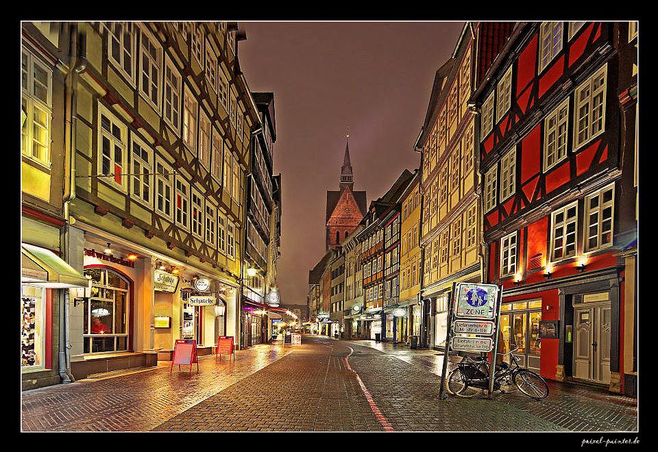 Altstadtgasse in Hannover (reload)