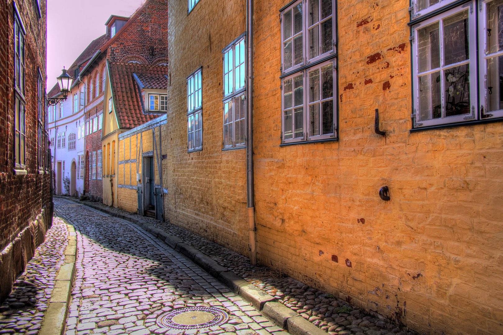 Altstadtgasse in Lüneburg