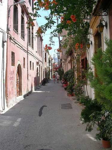 Altstadtgasse - Rethymno