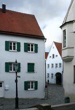 Altstadtgassen in Friedberg bei Augsburg