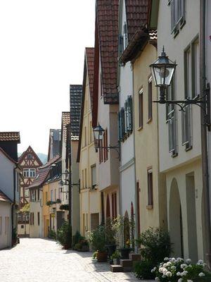 Altstadthäuser Karlstadt