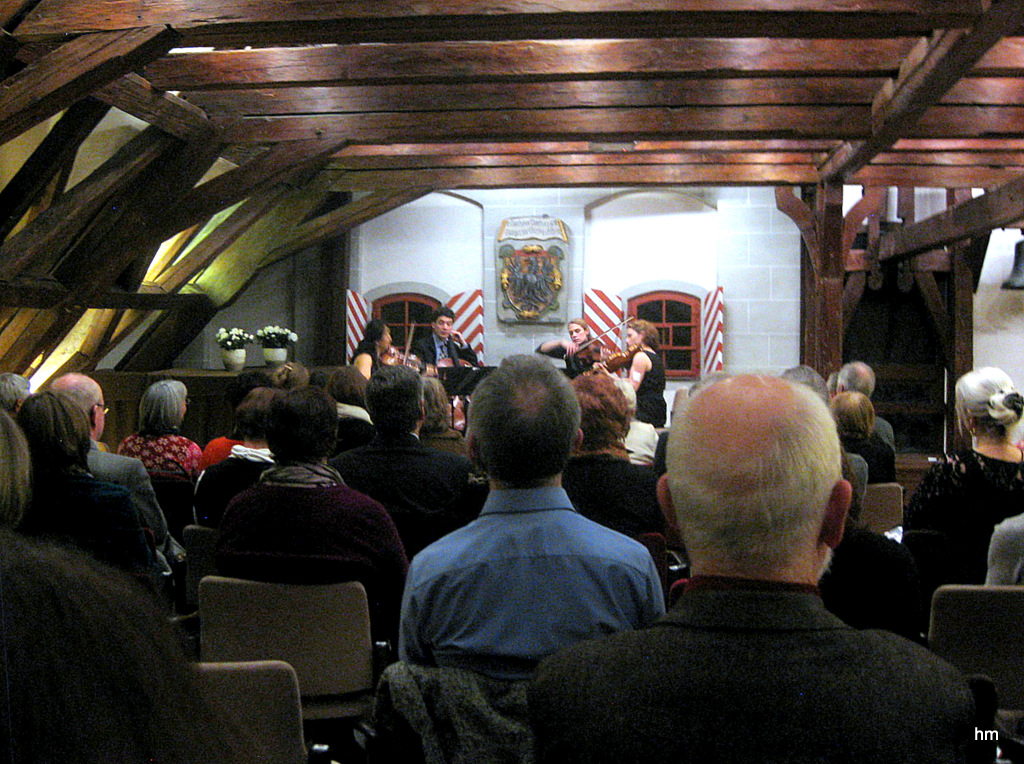 Altstadtkonzert Wangen: Daedalusquartett. im Ratssaal 15.2.13