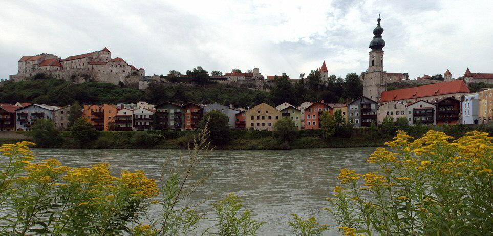 Altstadtpanorama von Burghausen