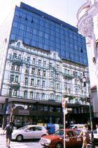 Altstadtspieglung im Neubau