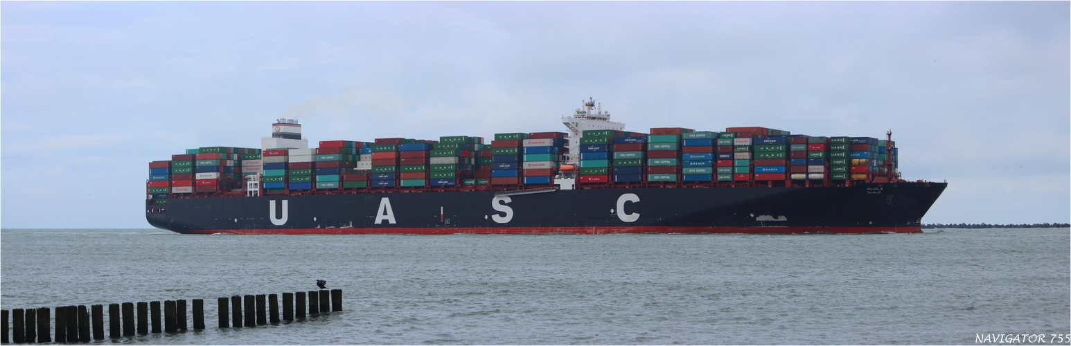 ALULA / Container Ship / Rotterdam