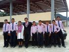 Alumnos de San juan Cancuc, Chiapas.