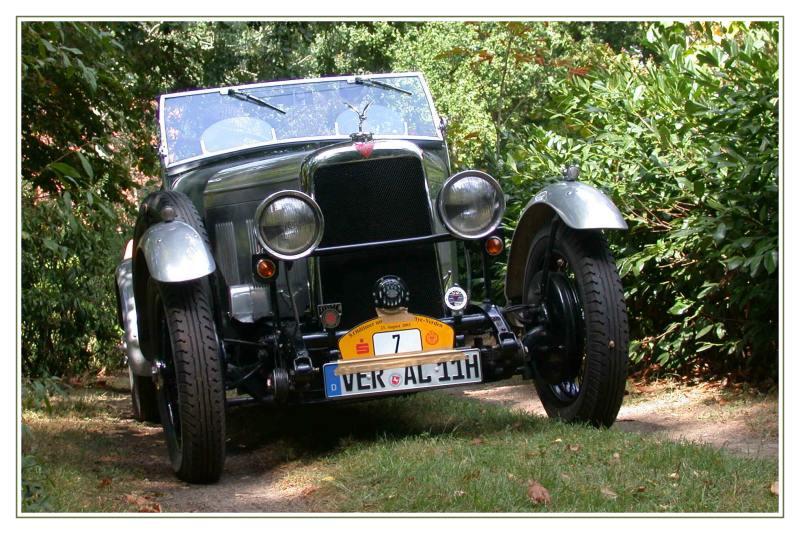 ALVIS Firefly 12/50 von 1933