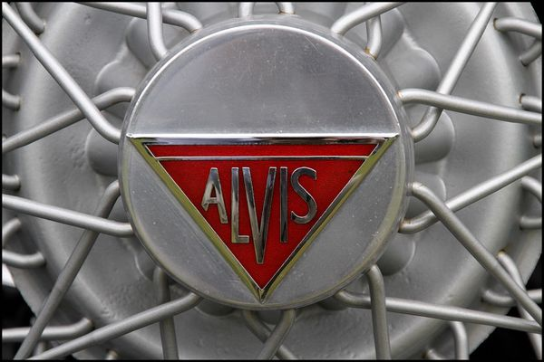 Alvis Spare Wheel