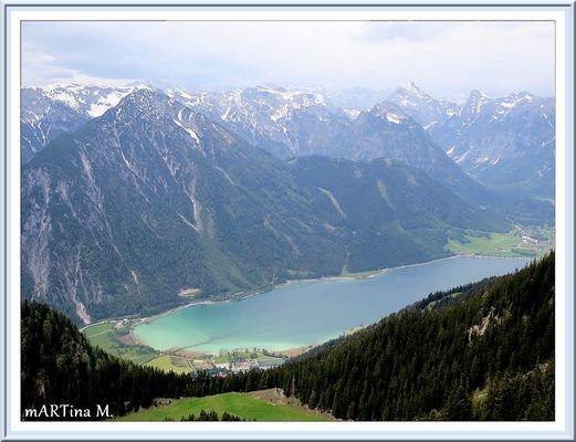 Am Achensee  (mit Gedicht)