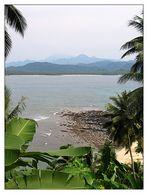 Am Äquator auf Ilhéu das Rolas - São Tomé e Príncipe
