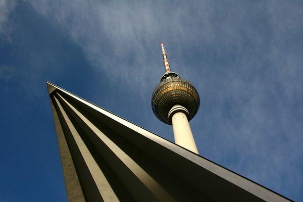 Am Alexanderplatz in Berlin