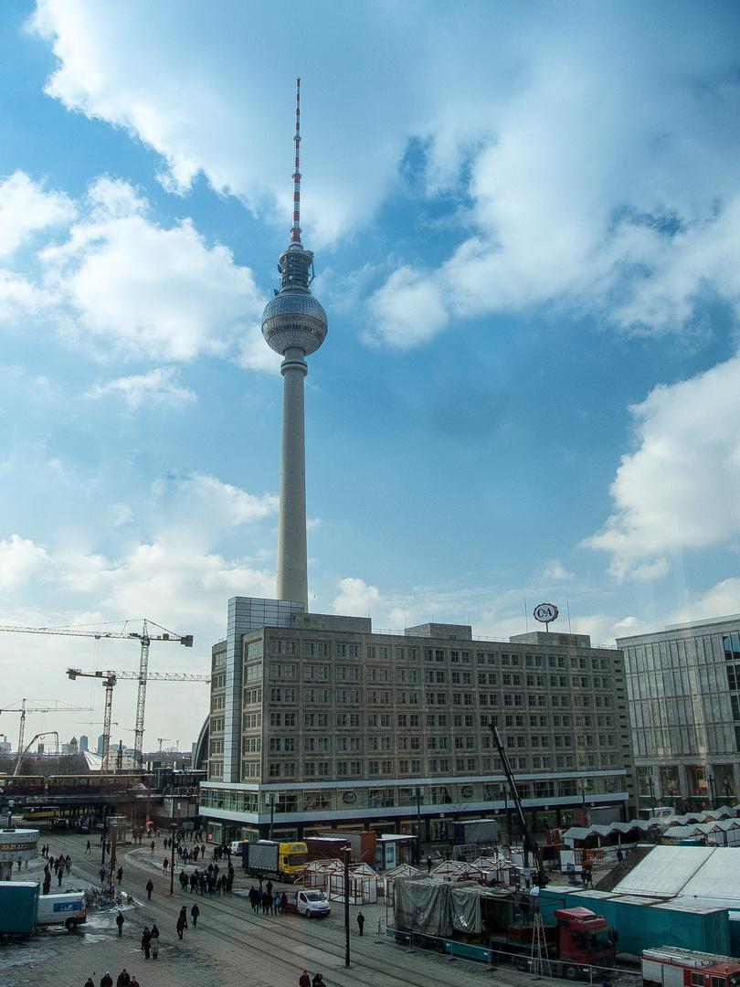 Am Alexanderplatz ist was los