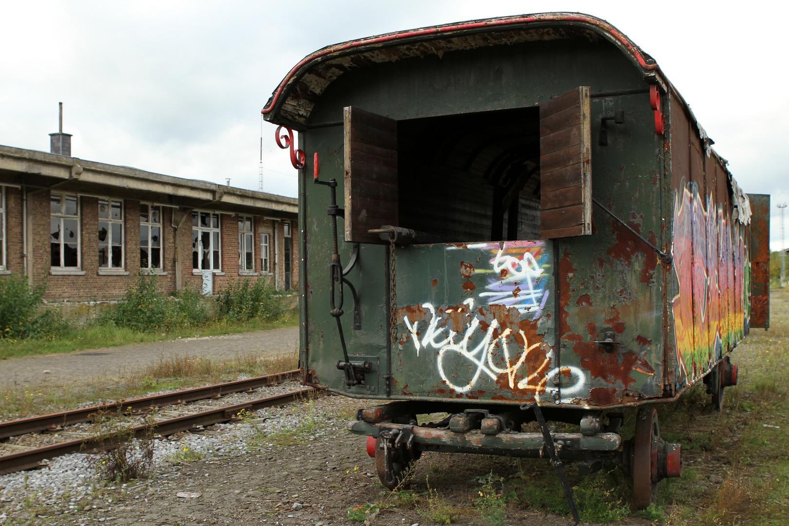 Am alten Bahnhof II