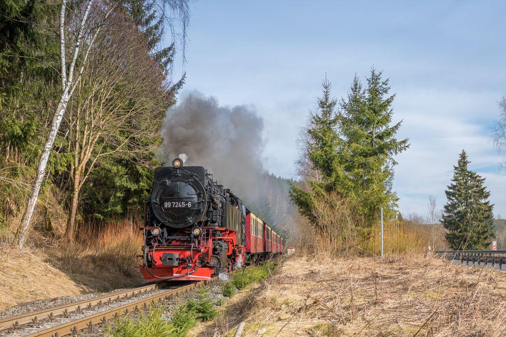 Am alten Bahnhof Sorge, 99 7245-6