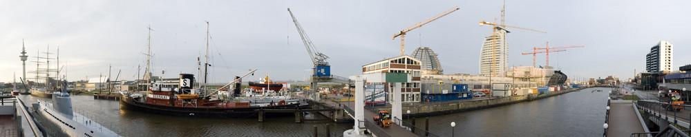 Am Alten Hafen von Bremerhaven