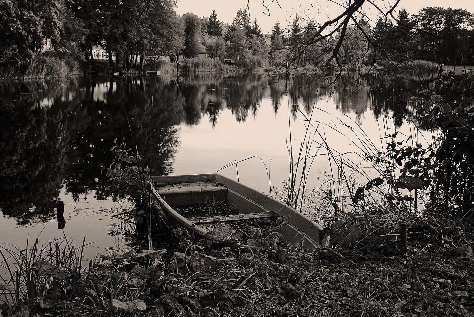 Am alten Kaiser Wilhelm Kanal. Groß Lindow