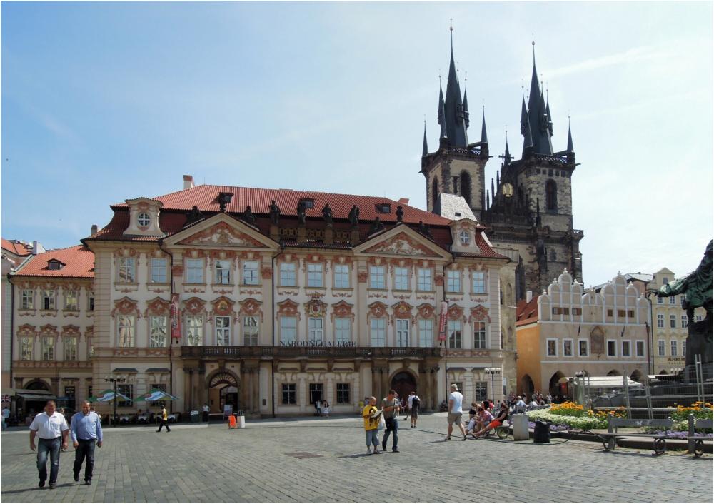 Am Altstädter Ring in Prag