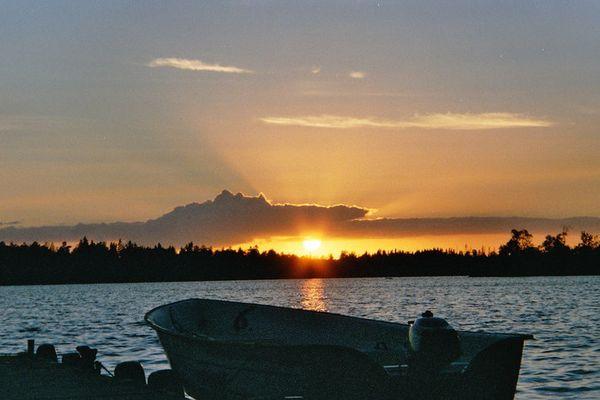 Am Asnensee / Schweden