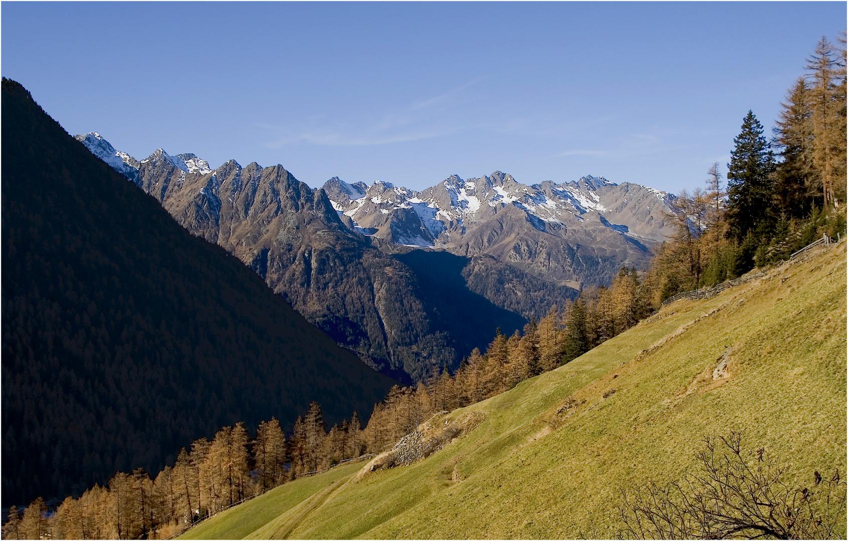 am Aufstieg zur Winnebachseehütte