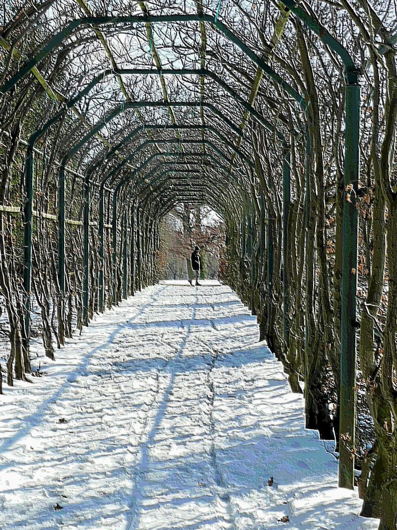 Am Ausgang des Winters