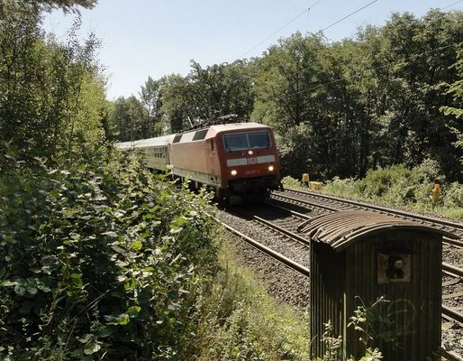 Am Bahndamm ohne Anschluss
