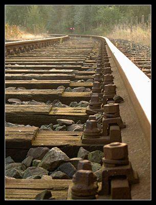 Am Bahngleis I: Schienen
