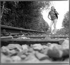 ... am Bahnhof...