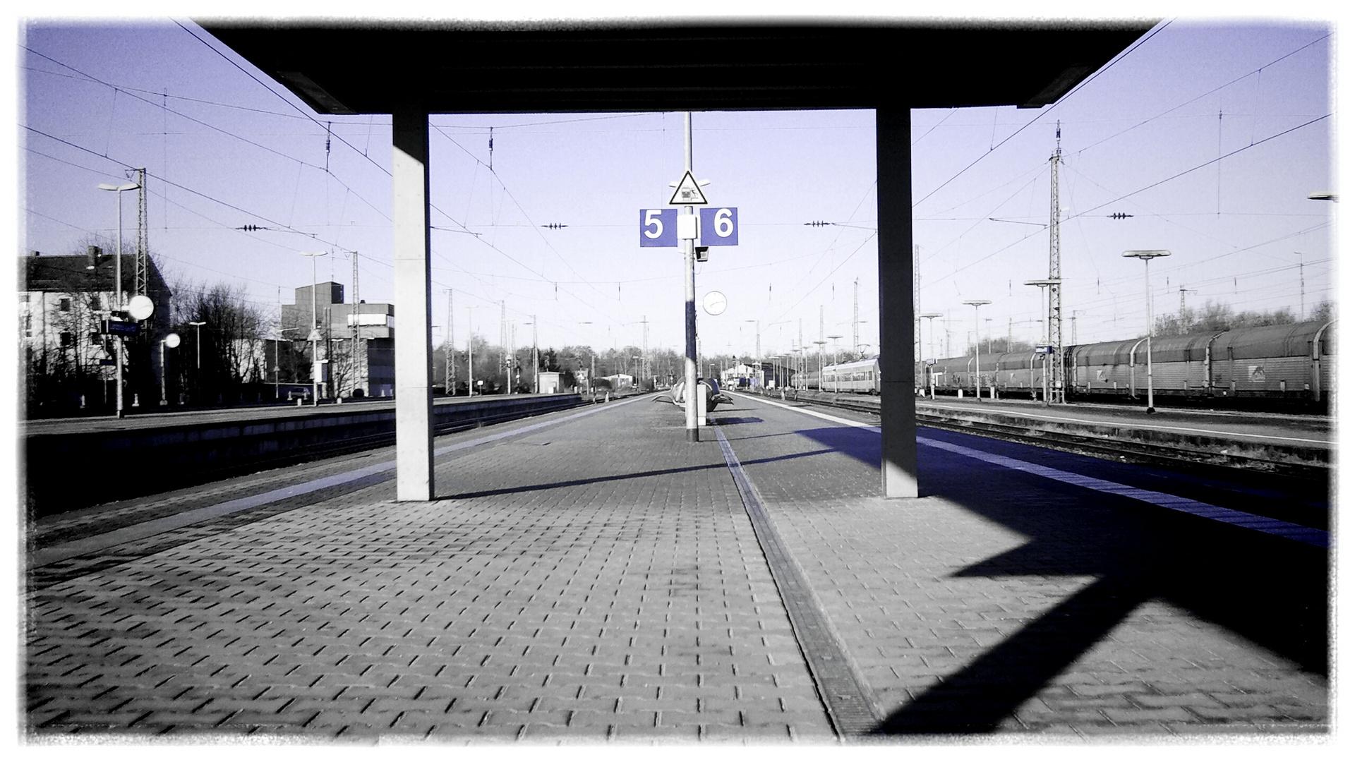 """Am Bahnhof"""