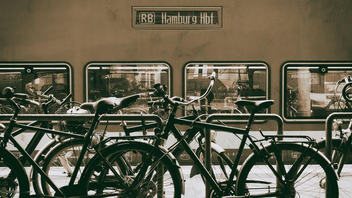 Am Bahnhof in Bad Oldesloe