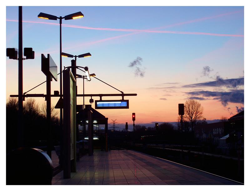 Am Bahnhof Jungfernheide