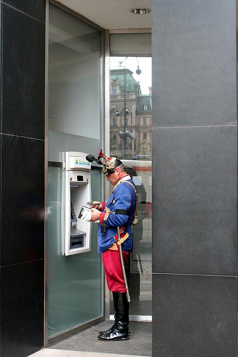 Am Bankomat