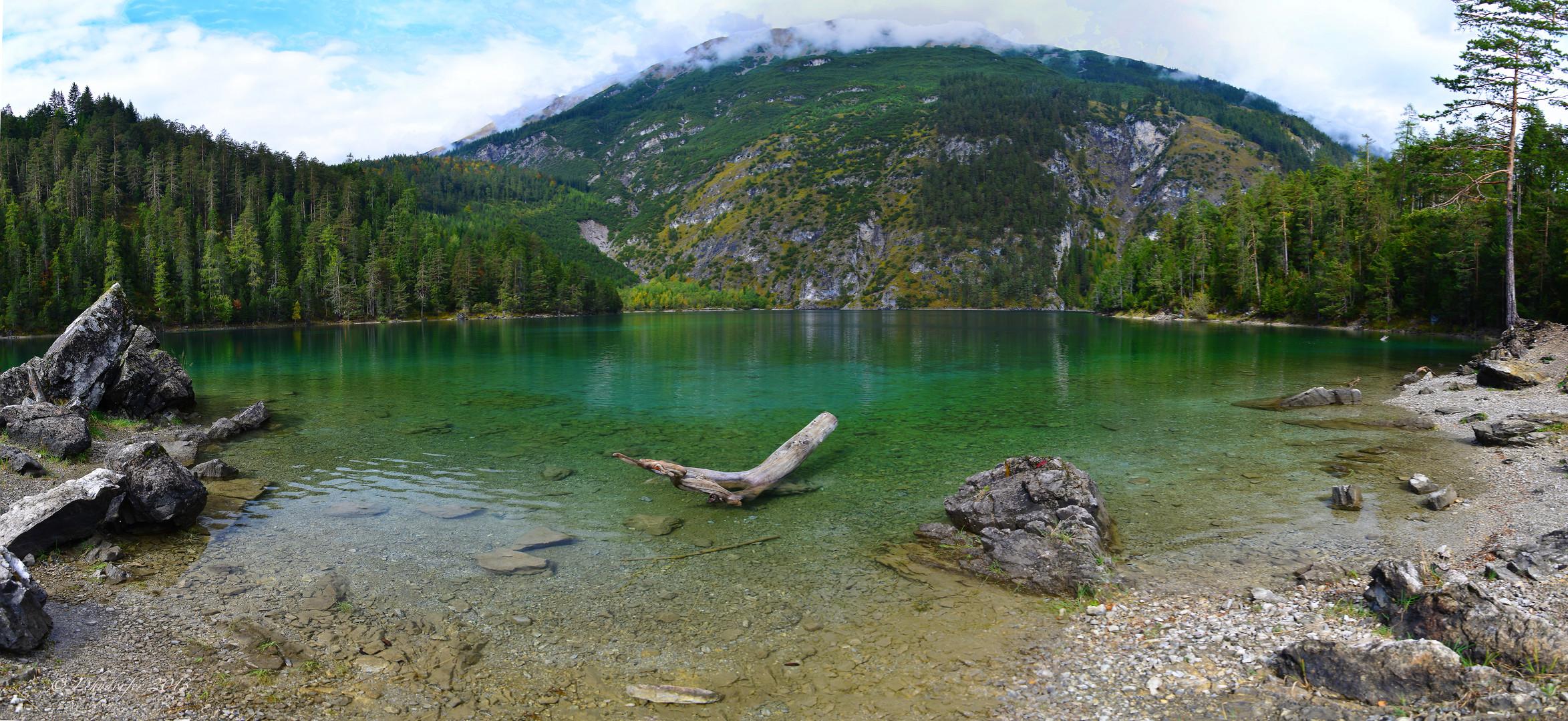 Am Blindsee in Tirol
