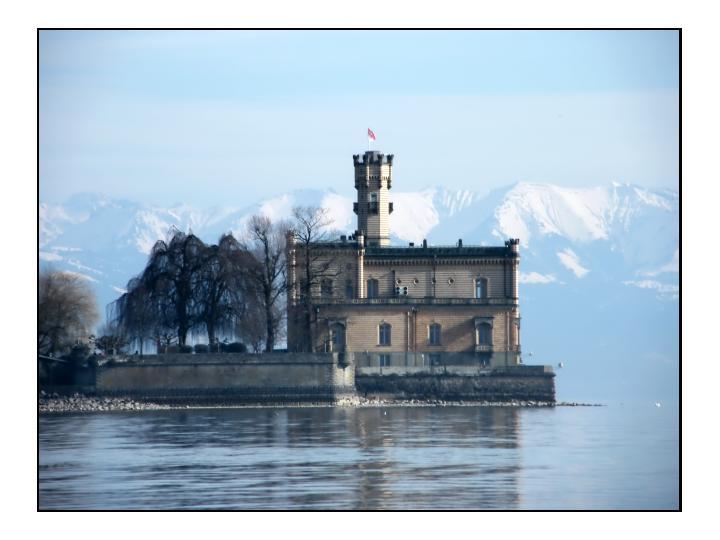 Am Bodensee - Schloß Montfort im Frühling