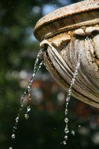Am Brunnen fließt das Wasser :)
