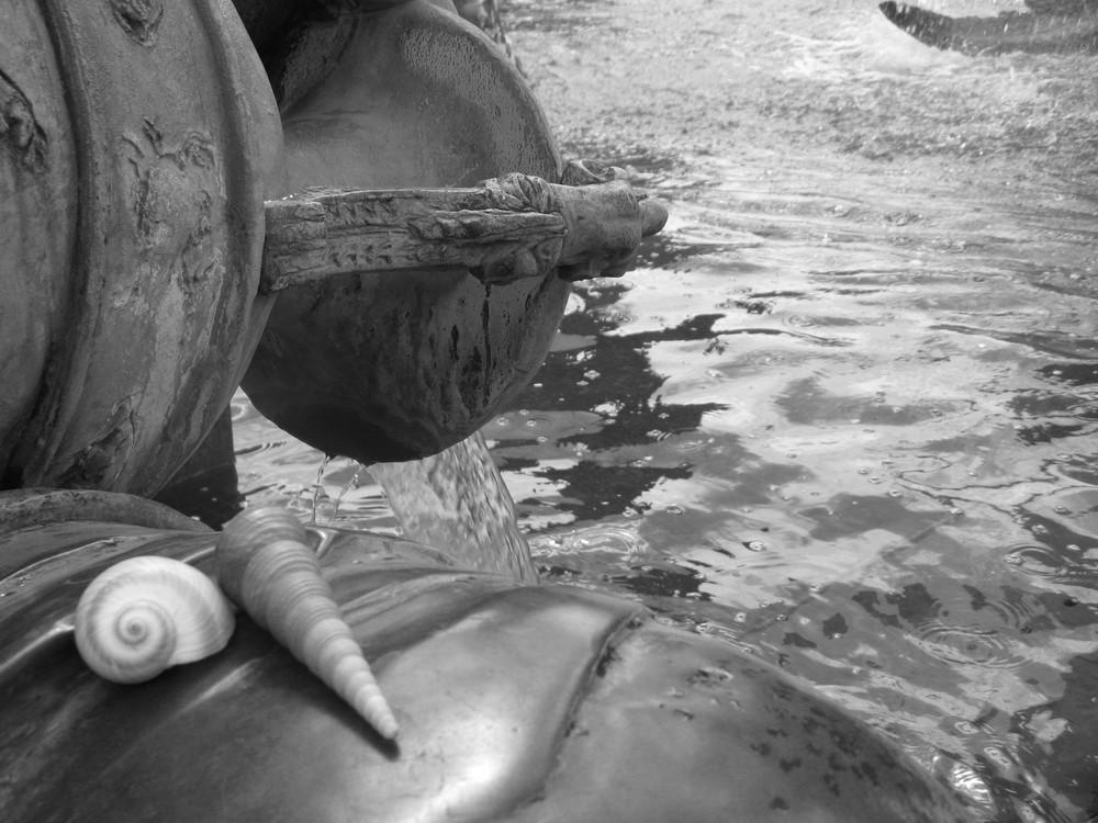 Am Brunnen von der Ferne träumen