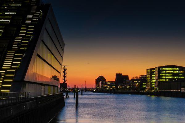 Am Dockland ...