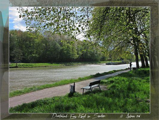 Am Dortmund-Ems-Kanal in Senden