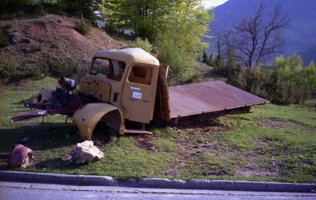 Am Duljepass Kosovo