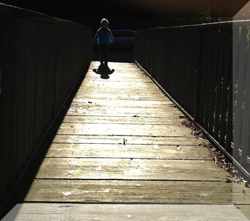 Am Ende der Brücke...