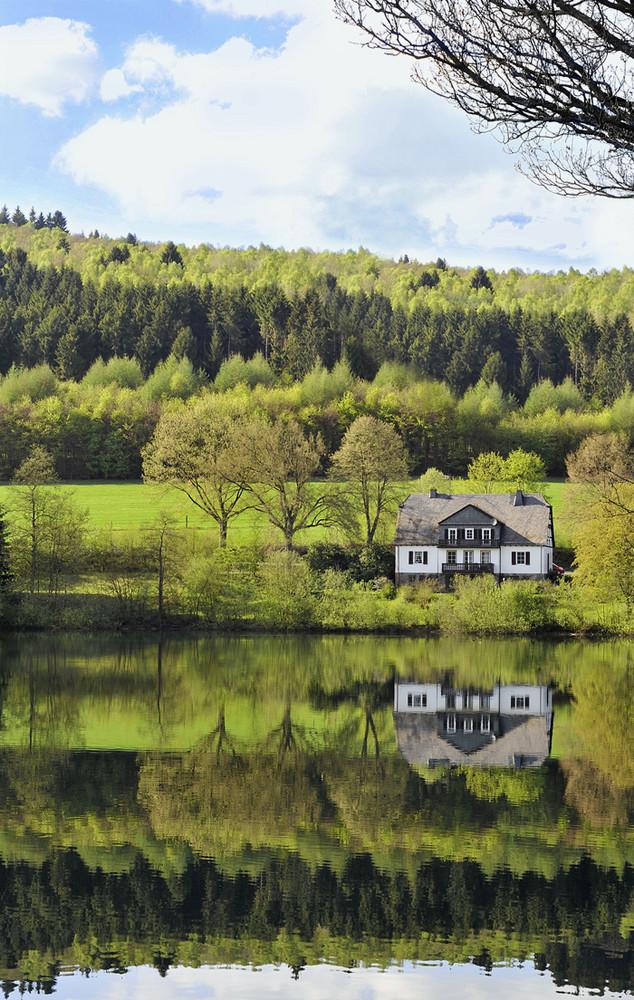 Am Ende der Straße steht mein Haus am See