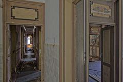 am Ende des Korridors...
