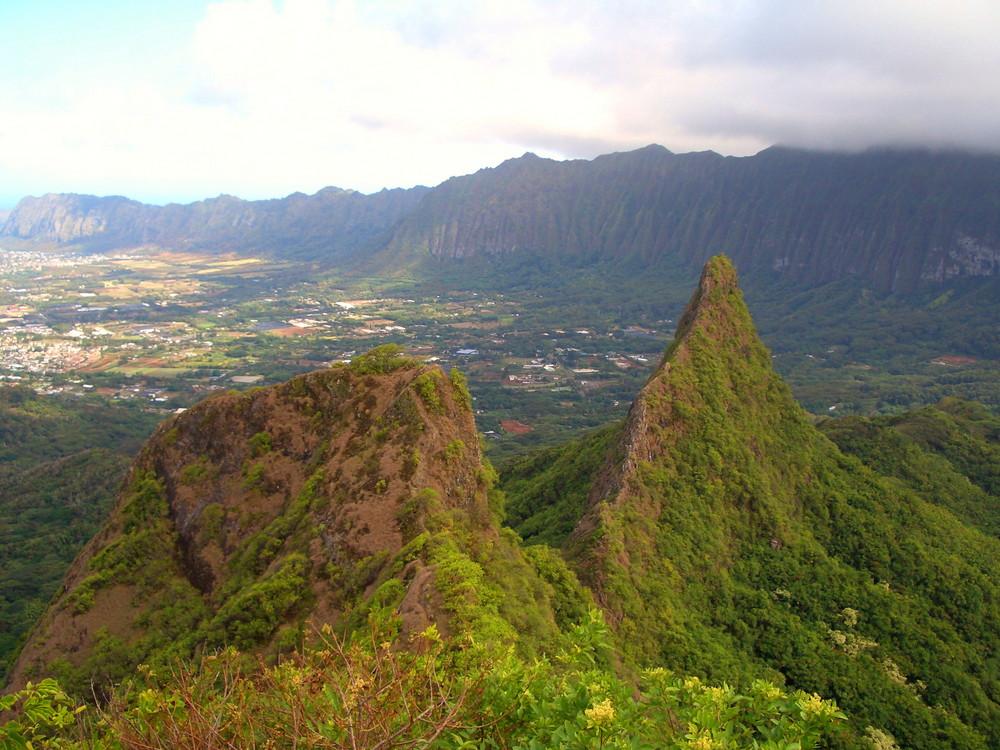 am Ende des Kuli'ou'ou Ridge Trails... (Oahu)