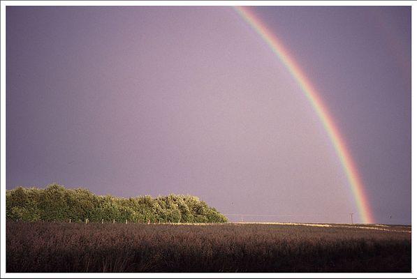 ...am Ende des Regenbogens