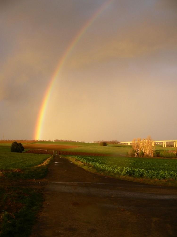am Ende des Regenbogens I