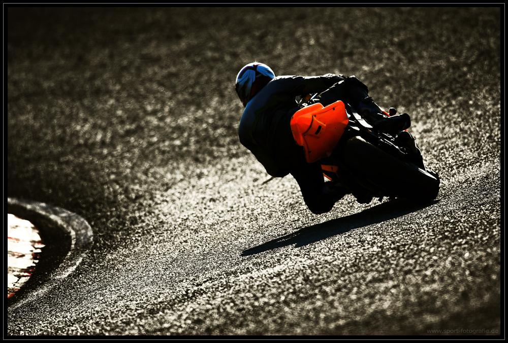 Am Ende des Rennfahrertages