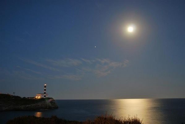 Am Ende.......steht der Mond !!