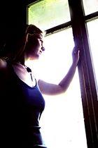 Am Fenster...