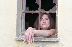 am Fenster ....